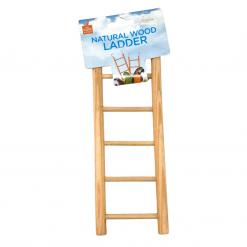 Avian Care Australia – Natural Wood Ladder – 5 Steps
