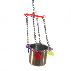 Hanging Drinker_Feeder - Acrylic - Famember
