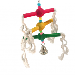 Multi Perch Rope And Bell – Birdie