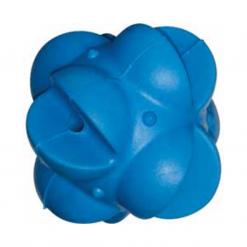 Multi Star Rubber Ball - 8cm - Blue - Dogit