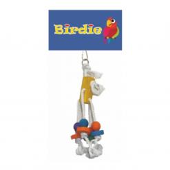 Small Block With 4 Hangers - Birdie