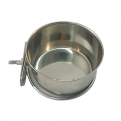 Stainless Steel Coop Cup With Clamp - 0.3L - Small