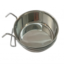 Stainless Steel Coop Cup With Hanger – 0.6L – Medium