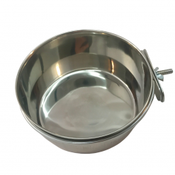 Stainless Steel Coop Cup with Clamp – 0.9L – Large