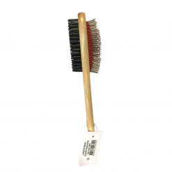 Wooden Dog Brush - Double Sided - Large - Jen's Pet Products