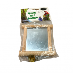 Wooden Mirror With Bell - Small - Avione