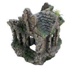 Ruins - Fish Tank Ornament - Bon Aqua - Back