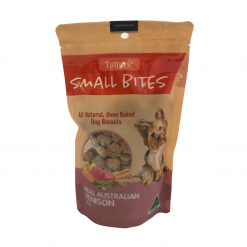 Tidbits Natural Biscuits - 180g - Natures Best - Australian Venison
