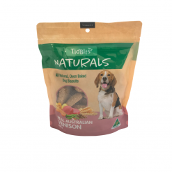 Tidbits Naturals Bites – 350g – Australian Venison