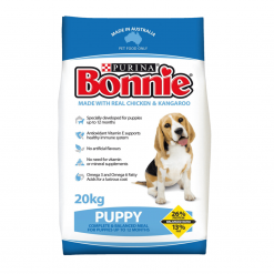 Dog Biscuits - Puppy, Made with Chicken and Kangaroo - 20kg - Bonnie