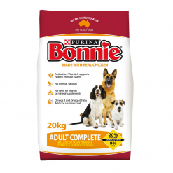 Dog Biscuits - Complete, Made with Chicken - 20kg - Bonnie