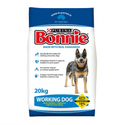 Dog Biscuits - Working Dog, Made with Kangaroo - 20kg - Bonnie