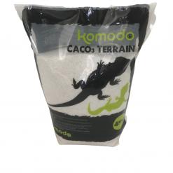 CACO3 Reptile Substrate Terrain - 4kg - White - Komodo
