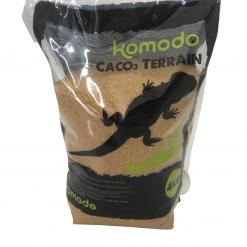 CACO3 Reptile Substrate Terrain - 4kg - Caramel - Komodo
