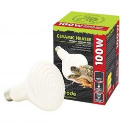 Ceramic Heat Emitter - 100w - White - Komodo