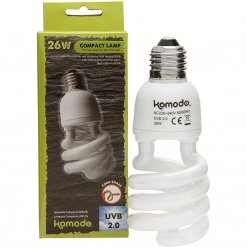Compact Lamp - UVB 2.0 - 26w - Komodo