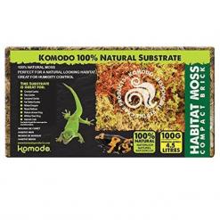 Habitat Moss Compact Brick - Natural Substrate - Komodo
