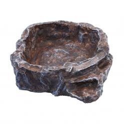 Terraced Dish - Medium - Brown - Komodo