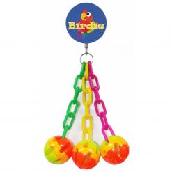 3 Plastic Chains and Balls - Birdie