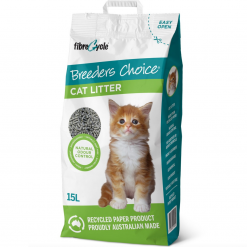 Cat Litter - 15Lt - Breeders Choice