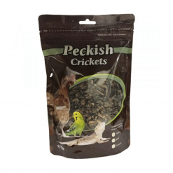 Peckish Dried Crickets 175g