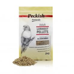 Peckish Naturals Adult Lorikeet Pellets Blueberry 2kg