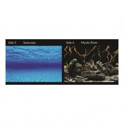 """Seaview Aquarium Background 12""""/30cm Seascape/Mystic River"""