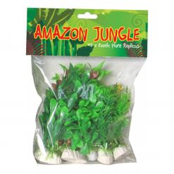 Amazon Jungle Aquarium Plant Pack of 6 10cm