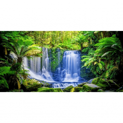 Aqua Natural Aquarium Background 'Tasmania'