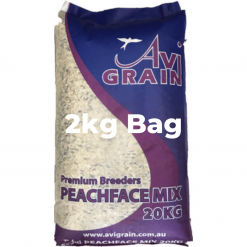 Avigrain Peachface and Cockatiel Seed Mix 2kg