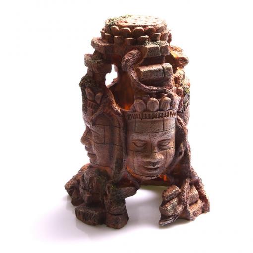 Aqua One 4 Faced Aztec Statue Large 12 x 17.5 x 26.5cm