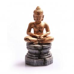 Aqua One Meditating Buddha Gold 9 x 8 .5 x 17.5cm