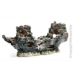 Aqua One Shipwreck Small 2 Piece 25 x 12.5cm