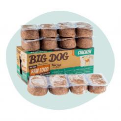 Big Dog Frozen Raw Food Chicken 3kg12 Patties