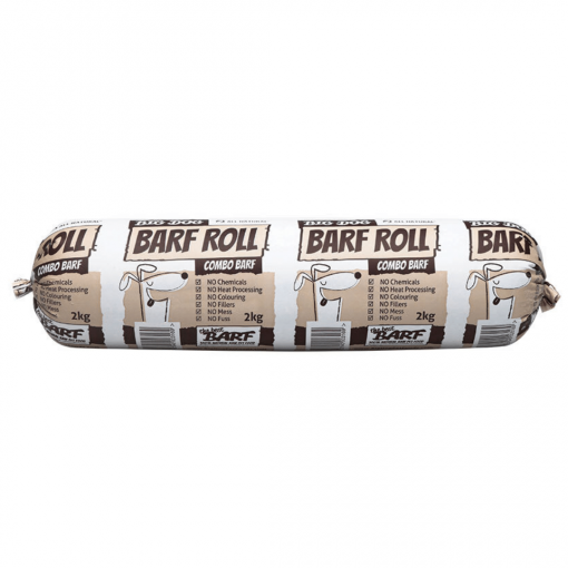 Big Dog Frozen Raw Food Combo 2kg Roll