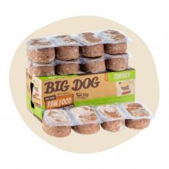 Big Dog Frozen Raw Food Single Protein Turkey 250g12 Patties